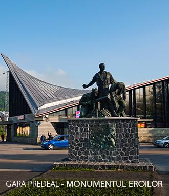 Gara Predeal Monumentul Eroilor