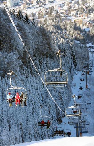 Predeal ski telescaun