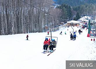 Valiug ski